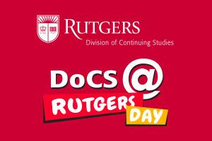 screenshot of DoCS @ Rutgers Day app